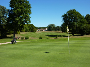 golf course at Cheverny